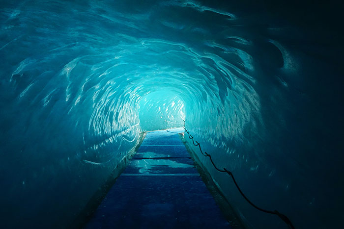 Ice Tunnel - Backroads French & Italian Alps Family Multi-Adventure Tour - Older Teens & 20s