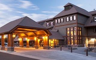 Canyon Lodge, Yellowstone National Park, Wyoming