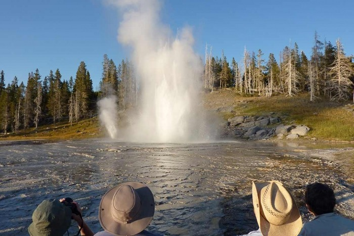Old Faithful - Yellowstone & Tetons Multi-Adventure Tour