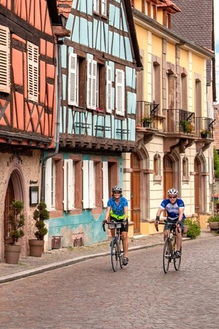 Biking in Champagne & Alsace, France