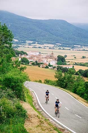Biking in Basque Country
