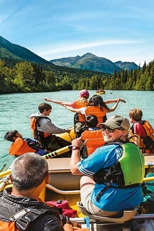 Rafting  - Alaska Family Multisport Adventure Tours