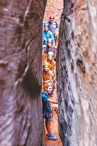 Canyoneering - Bryce, Zion & Grand Canyon Family Multi-Adventure Tour