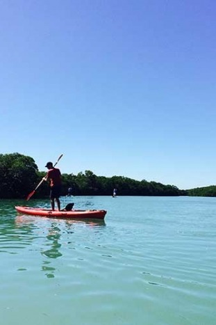 Backroads Everglades to Key West Family Breakaway Multisport Adventure Tour Paddleboarding