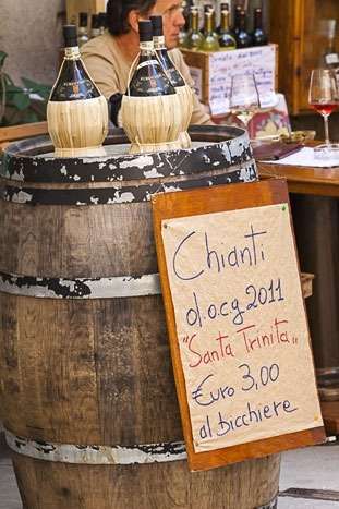 Chianti wine -  Backroads Cinque Terre & Tuscany Walking & Hiking Tour