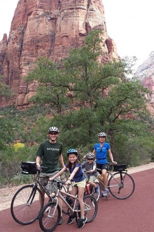 Cycling - Backroads Bryce, Zion & Grand Canyon Family Adventure Tour