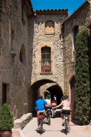 Family cycling - Costa Brava to Spanish Pyrenees Family Multi-Adventure Tour