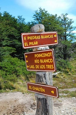 Signs - Patagonia Walking and Hiking Tour