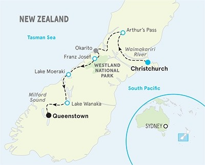 New Zealand Easygoing Multi-Adventure