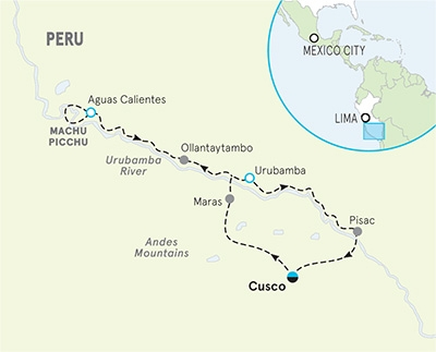 Peru Multi-Adventure Map