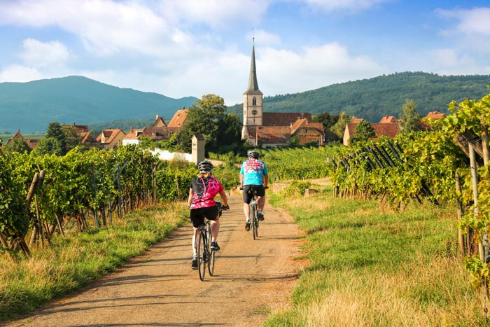 Champagne & Alsace France Bike Tours