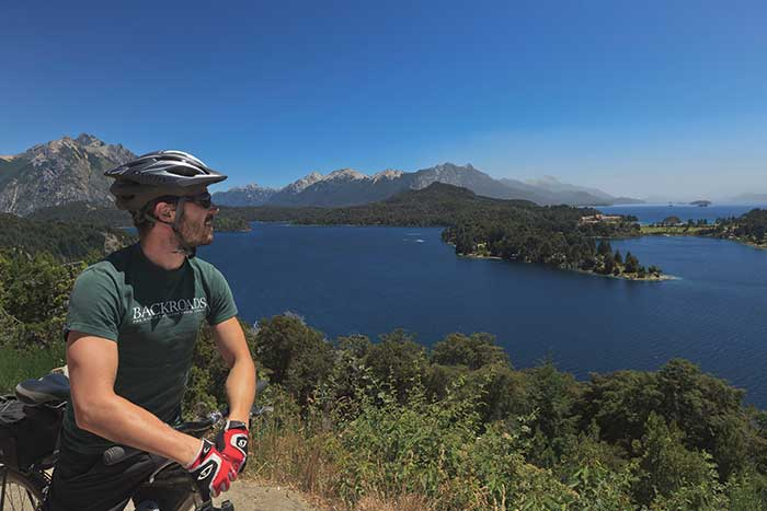 Cycling in Argentina's Lake District