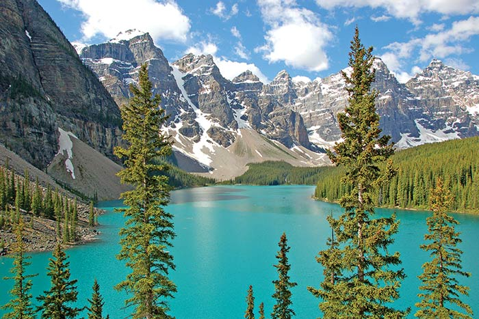 Moraine Lake & The Valley of Ten Peaks, Banff National Park, Canada