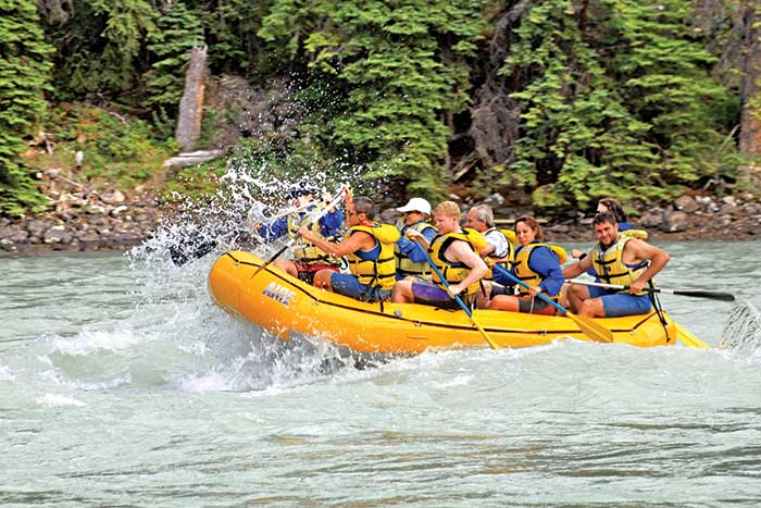 Whitewater Rafting - Canadian Rockies Family Multi-Adventure Vacation