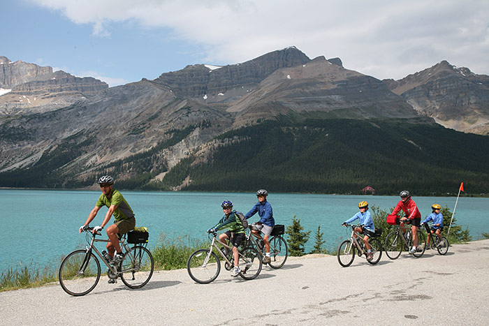 Canadian Rockies Family Biking Adventure - Teens & Kids