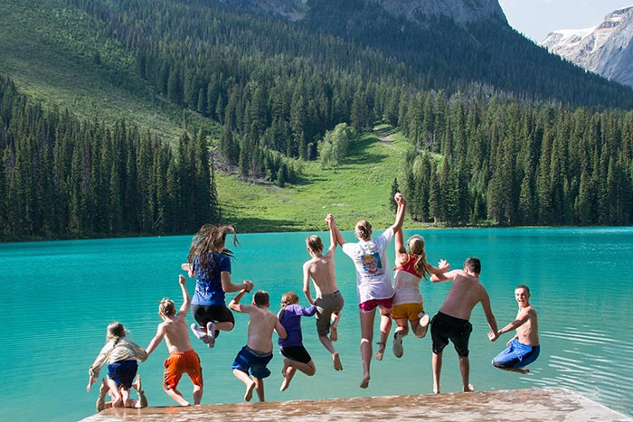 Canadian Rockies Family Multi-Adventure Tour - Teens & Kids