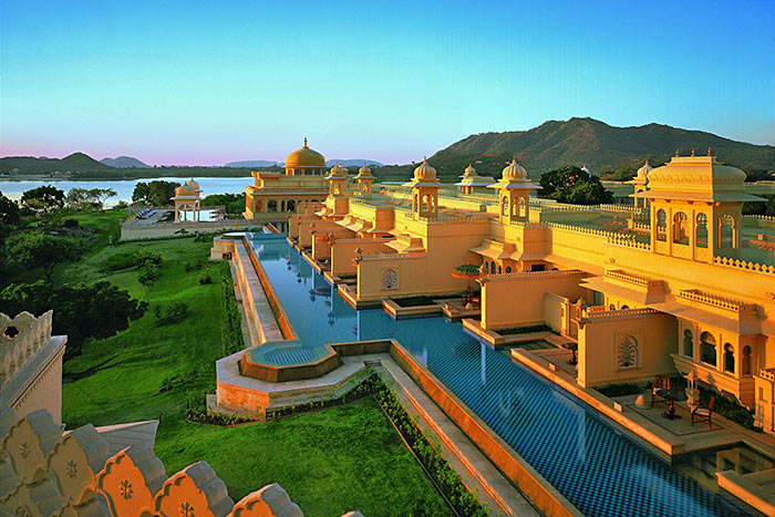 Oberoi Udaivilas on Backroads India Multisport Tour