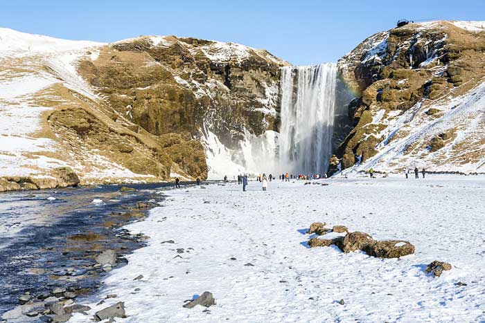 Waterfalls - Iceland Winter Adventure