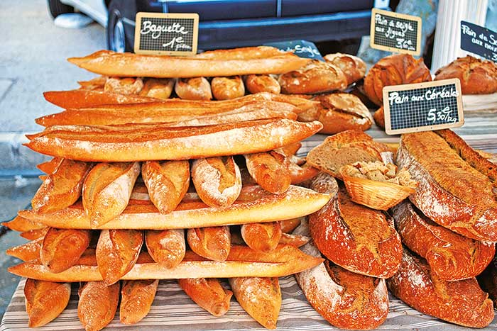 French bread - Provence & Costa Brava Walking Tours
