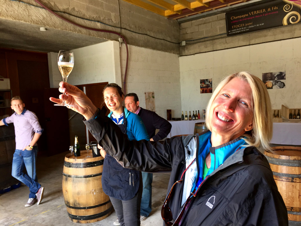Winery -  Champagne & Alsace France Bike Tours
