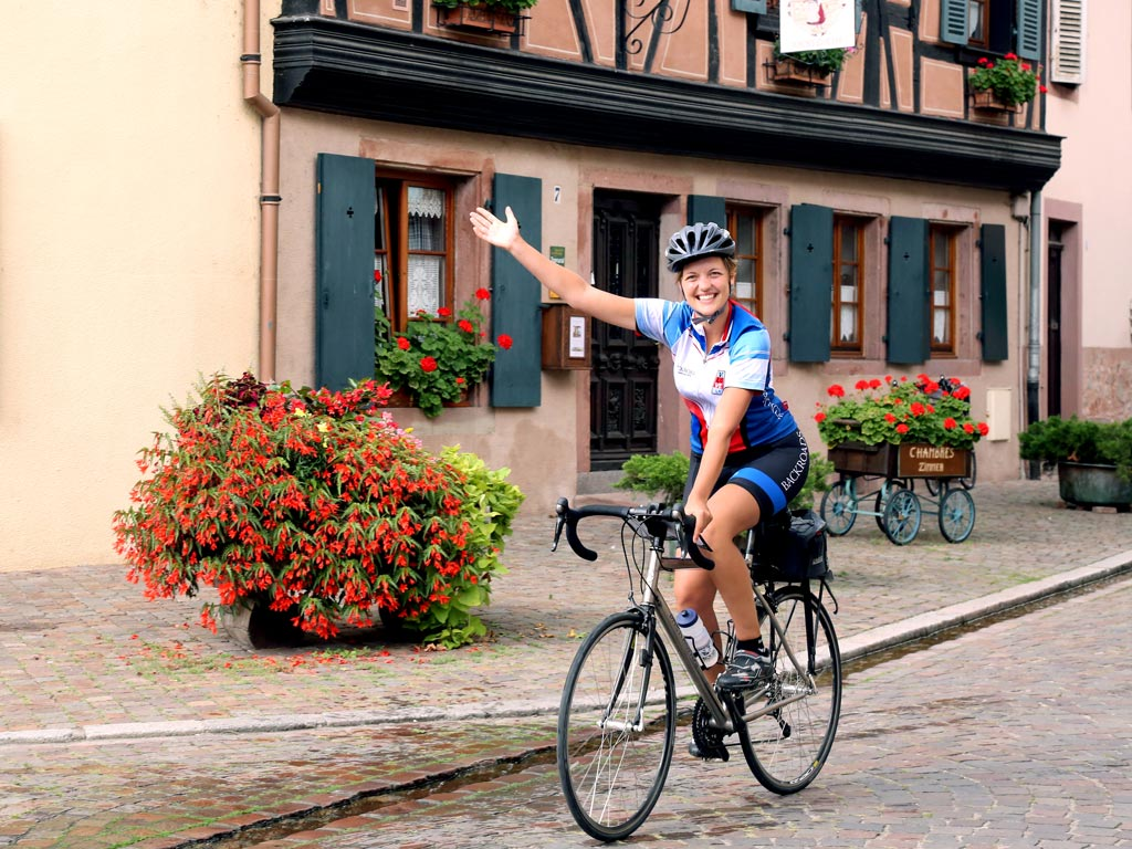 Biking - Backroads Champagne & Alsace France Bike Tours
