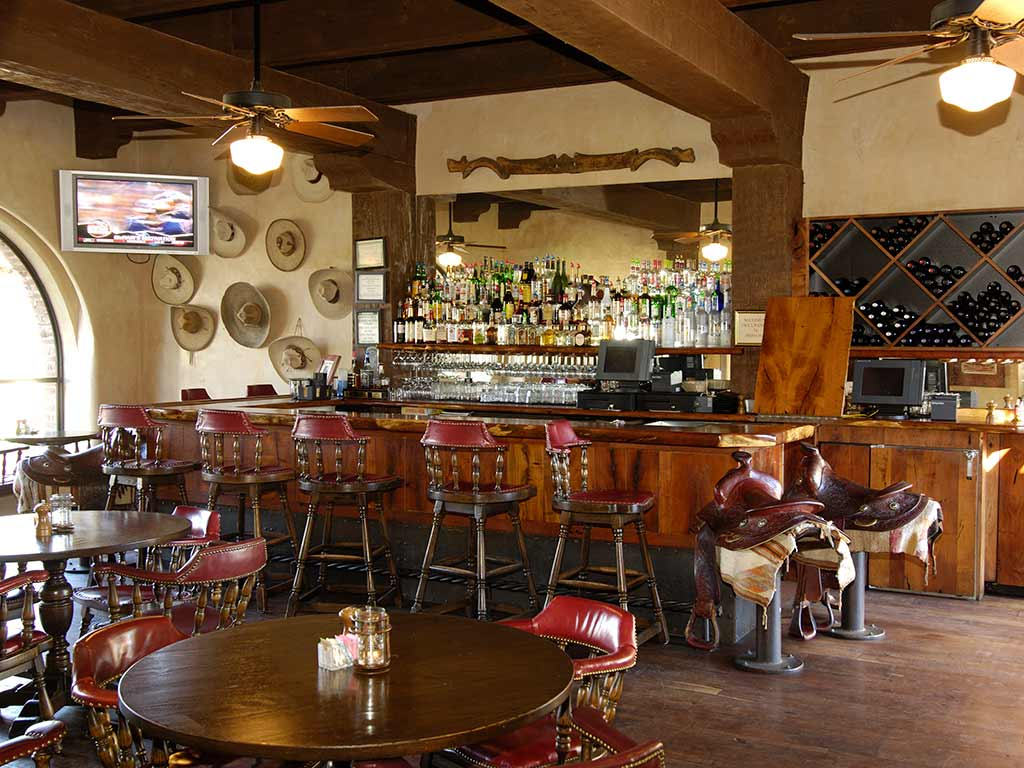 Tubac Golf Resort Bar - Arizona Bike Tour