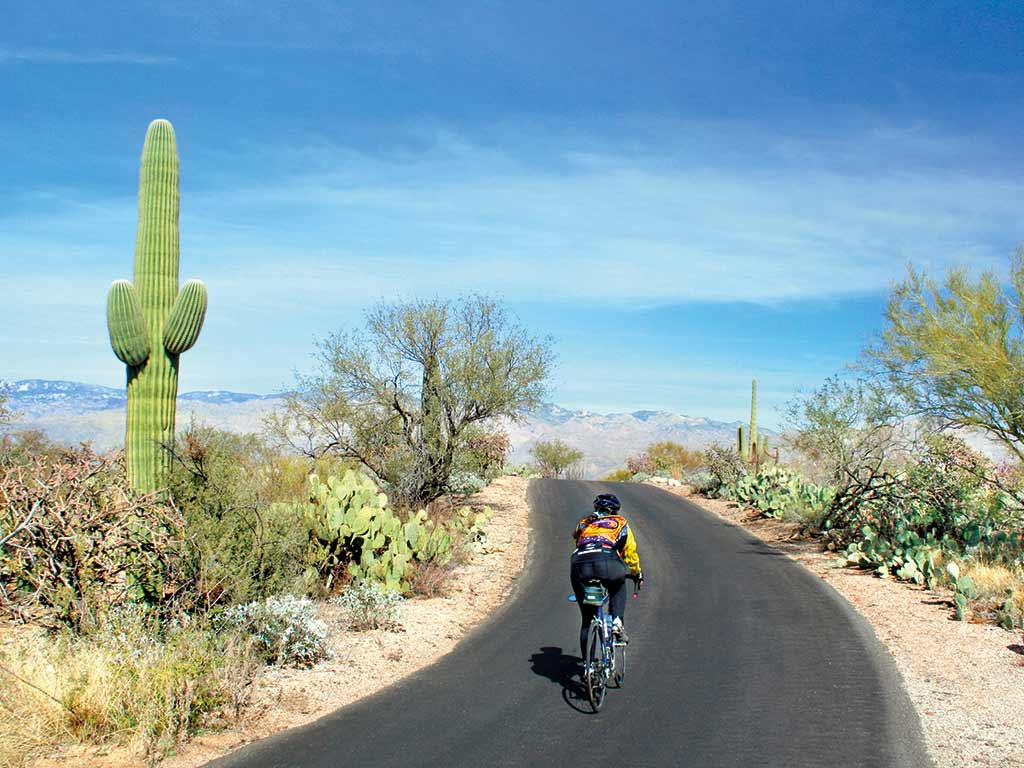 Cycling on Backroads Arizona Bike Tour