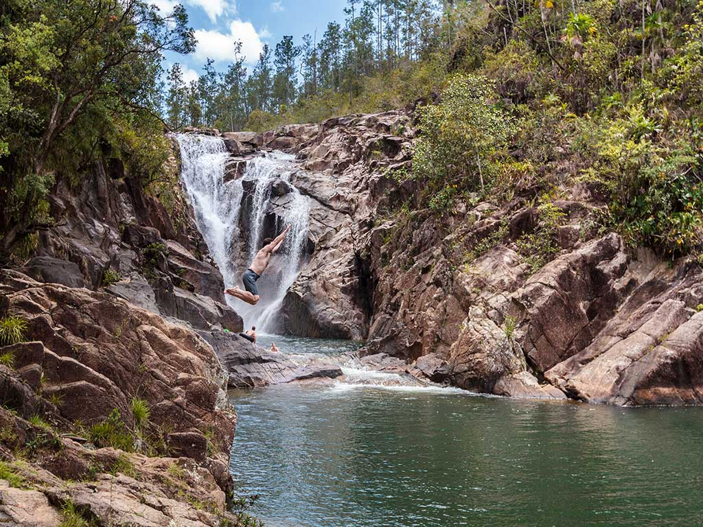 Waterfalls - Backroads Belize & Guatemala Family Multisport Tours