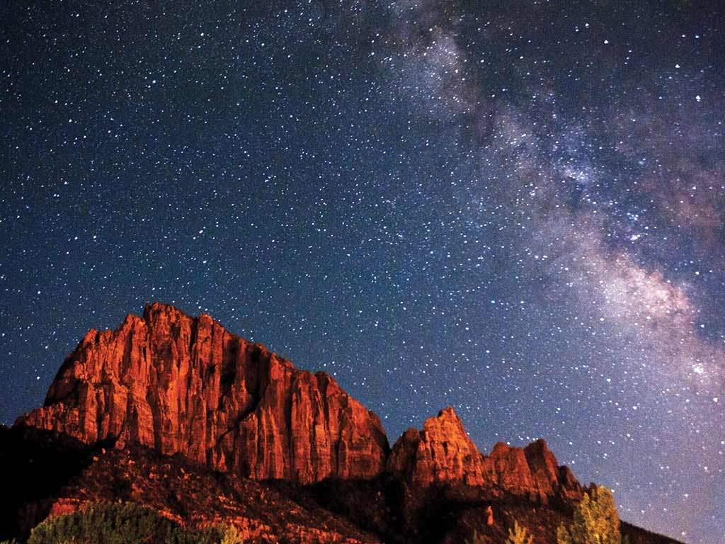 Starry sky - Bryce, Zion & Grand Canyon Family Breakaway Multisport Tour