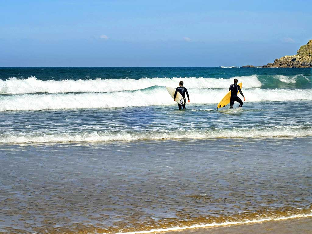 Surfing - Backroads Basque Country Multi-Adventure Tour