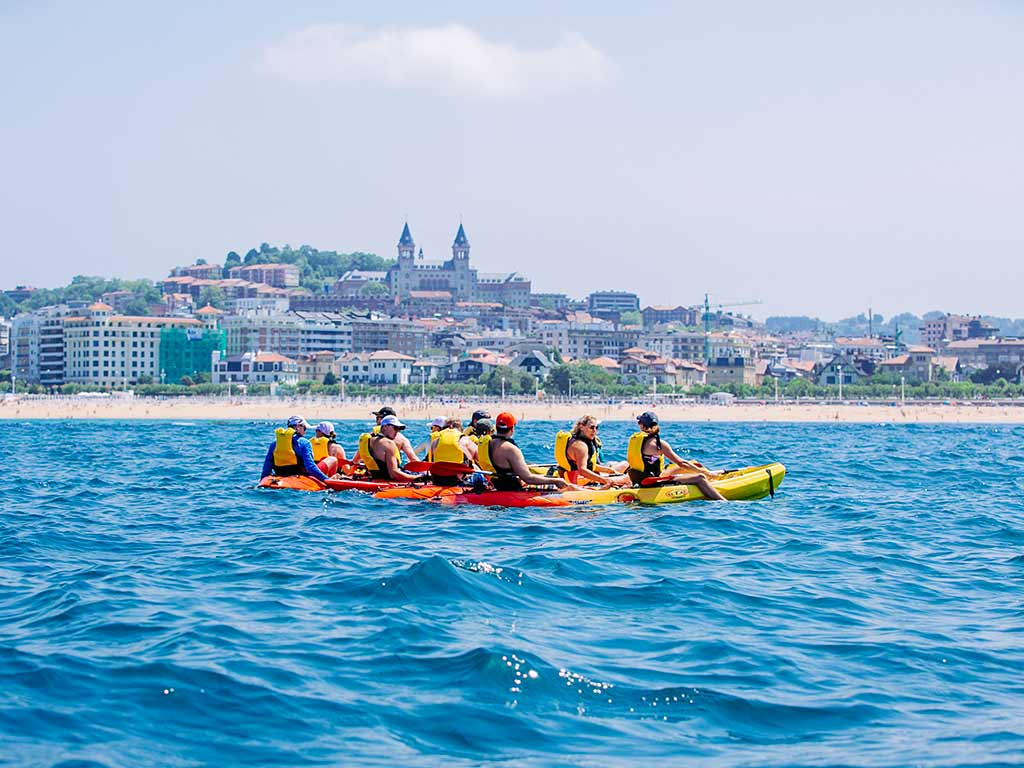 Kayaking - Basque Country Family Multi-Adventure Tour