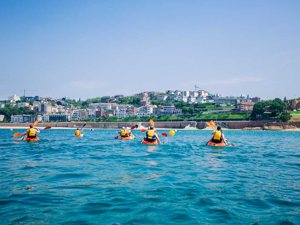 Kayaking - Backroads Basque Country Family Multisport Adventure Tour