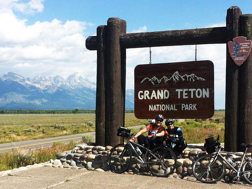 Cycling in Grand Teton National Park, Backroads