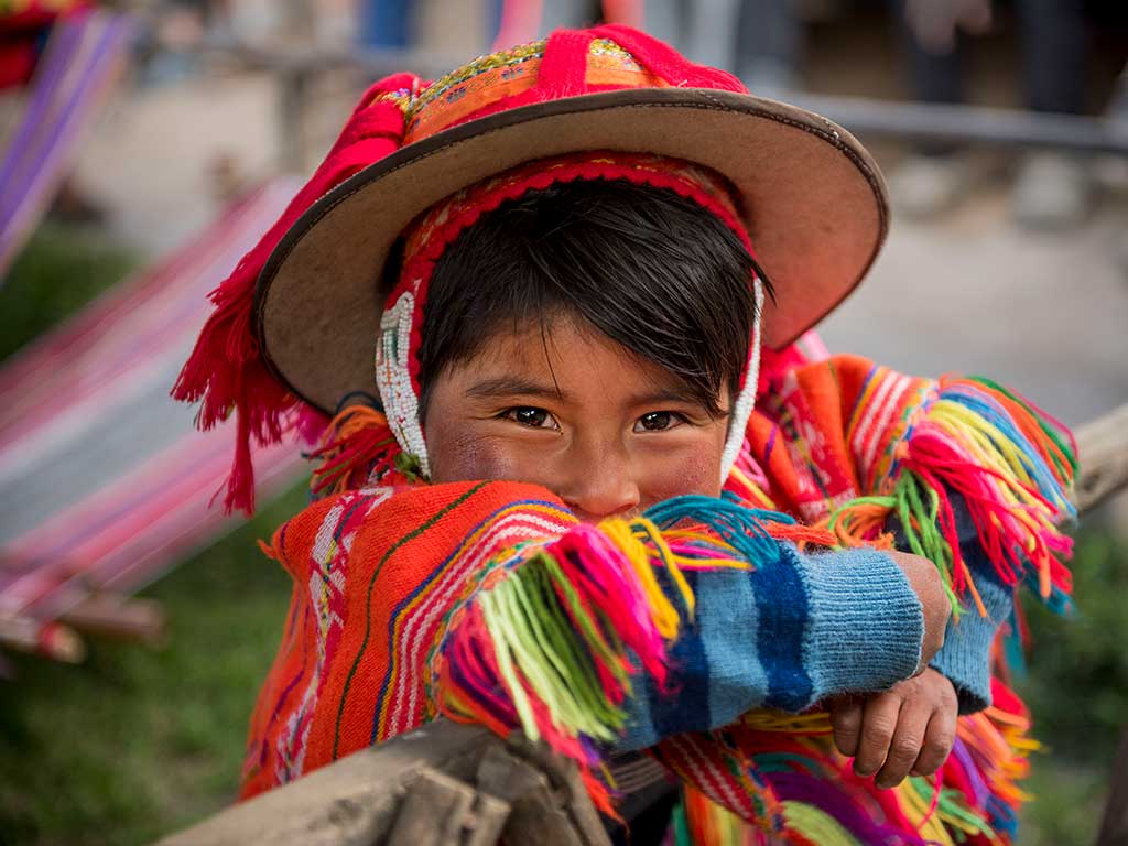 Peruvean Child - Peru walking and hiking tour