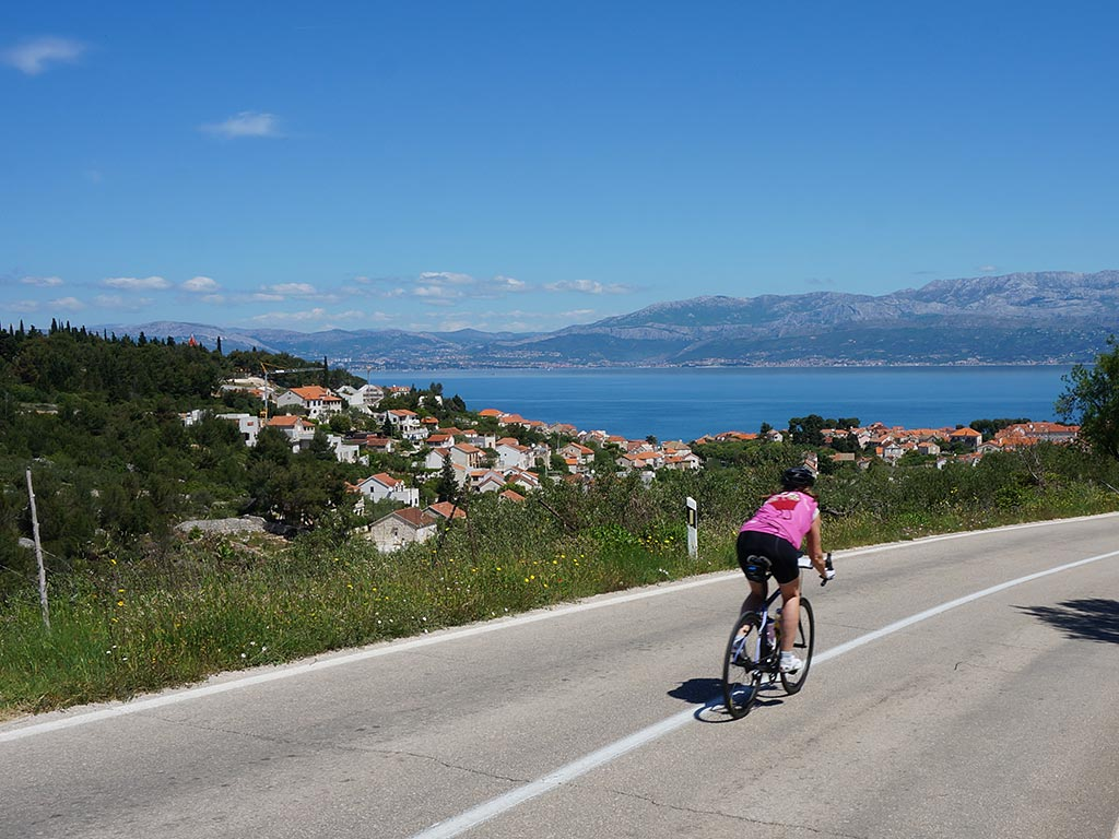 Venice to Croatia Ocean Cruise Family Bike Tour