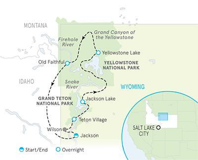 Wyoming's Yellowstone & Tetons & Montana's Big Sky Multi-Adventure Tour